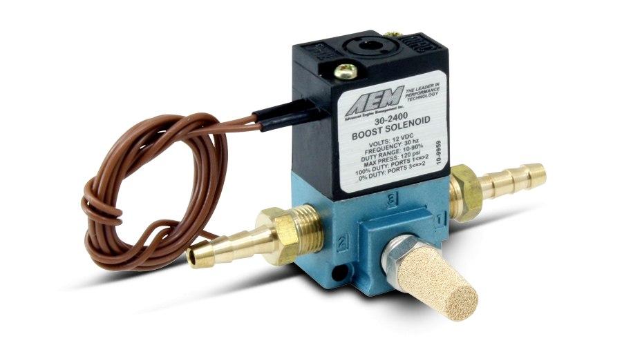 Elektrozawór Boost Control AEM ELECTRONICS - GRUBYGARAGE - Sklep Tuningowy